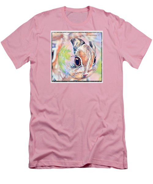 Honey Of A Bunny Men's T-Shirt (Slim Fit) by Anna Porter