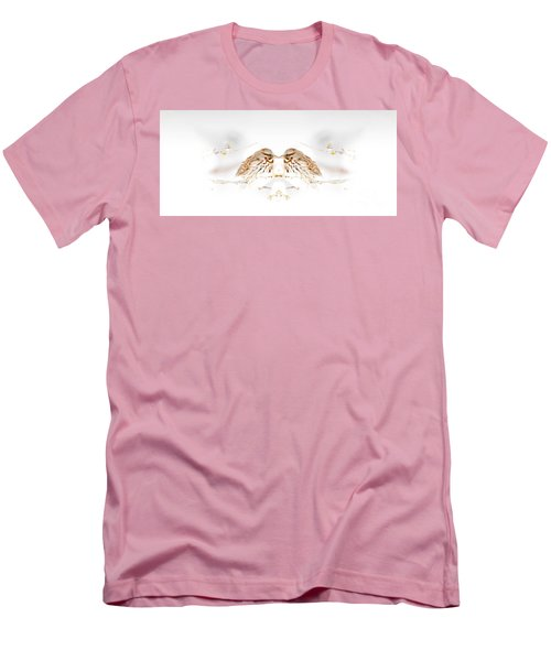 House Sparrow Men's T-Shirt (Slim Fit) by Lila Fisher-Wenzel