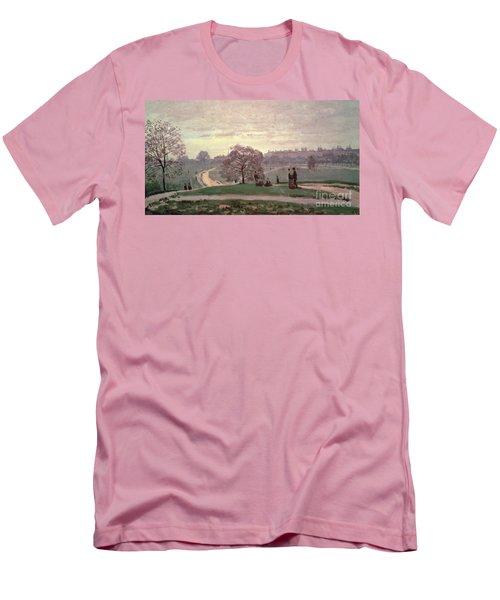 Hyde Park Men's T-Shirt (Slim Fit) by Claude Monet