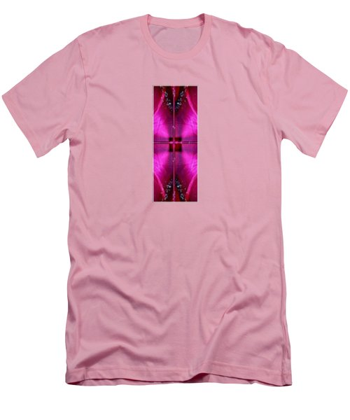 I II IIi Alpha Art On Shirts Alphabets Initials   Shirts Jersey T-shirts V-neck By Navinjoshi Men's T-Shirt (Slim Fit) by Navin Joshi