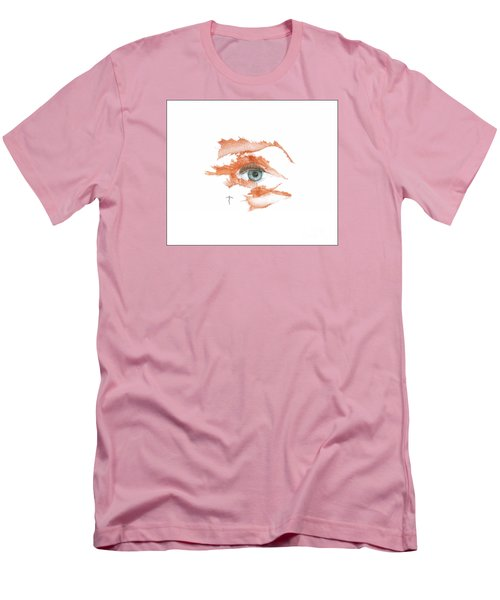 Men's T-Shirt (Athletic Fit) featuring the drawing I O'thy Self by James Lanigan Thompson MFA