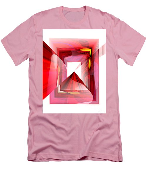 Infinity Tunnel  Men's T-Shirt (Slim Fit) by Thibault Toussaint