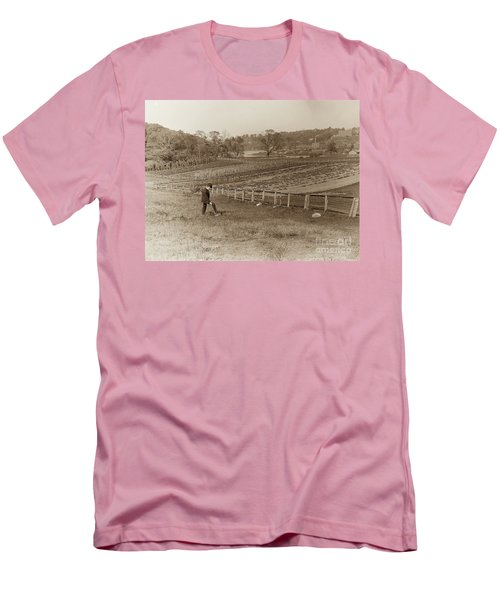 Men's T-Shirt (Athletic Fit) featuring the photograph Inwood 1906 by Cole Thompson