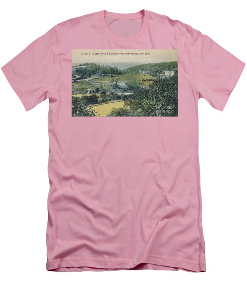 Inwood Postcard Men's T-Shirt (Slim Fit) by Cole Thompson
