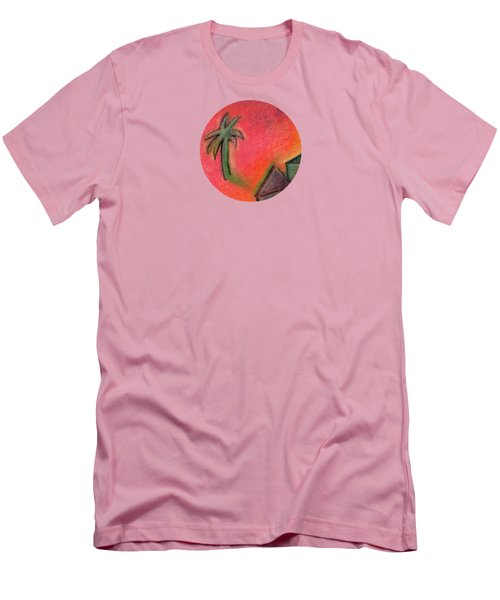 Island Life 2 Men's T-Shirt (Slim Fit) by Valerie Reeves