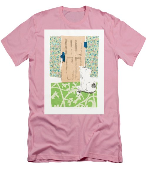 Ive Got Places To Go People To See Men's T-Shirt (Slim Fit) by Leela Payne