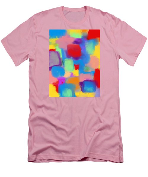 Juicy Shapes And Colors Men's T-Shirt (Slim Fit) by Susan Stone