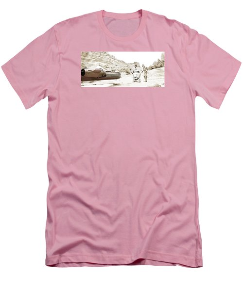 Jundland Wastes Men's T-Shirt (Slim Fit) by Kurt Ramschissel