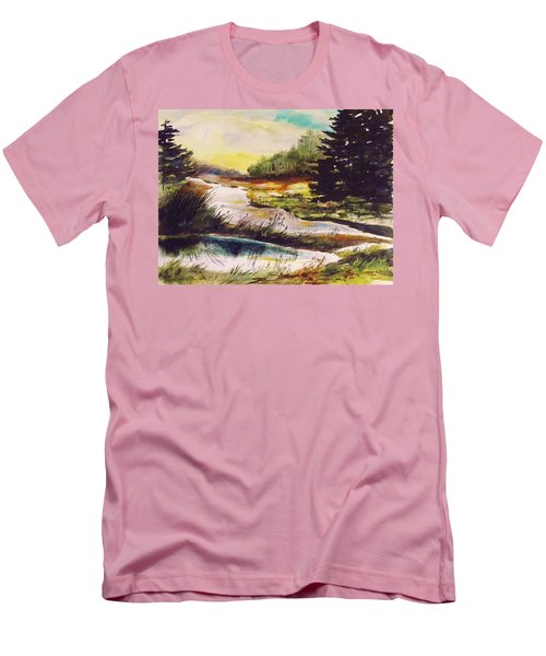 Just After Daybreak Men's T-Shirt (Athletic Fit)