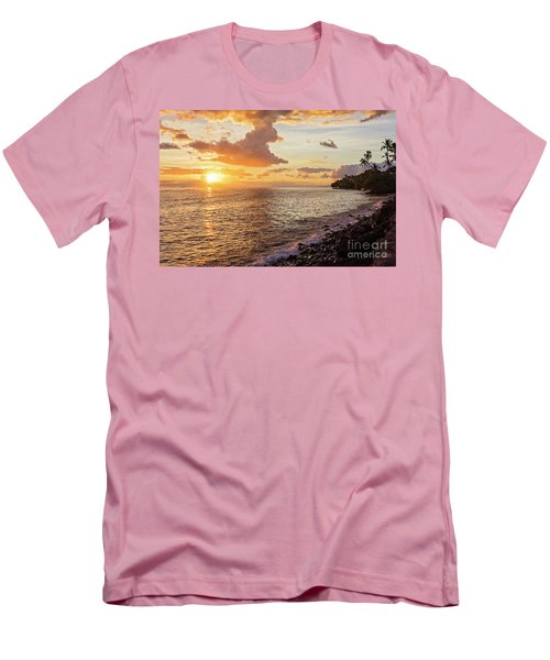 Lahaina Sunset Men's T-Shirt (Athletic Fit)