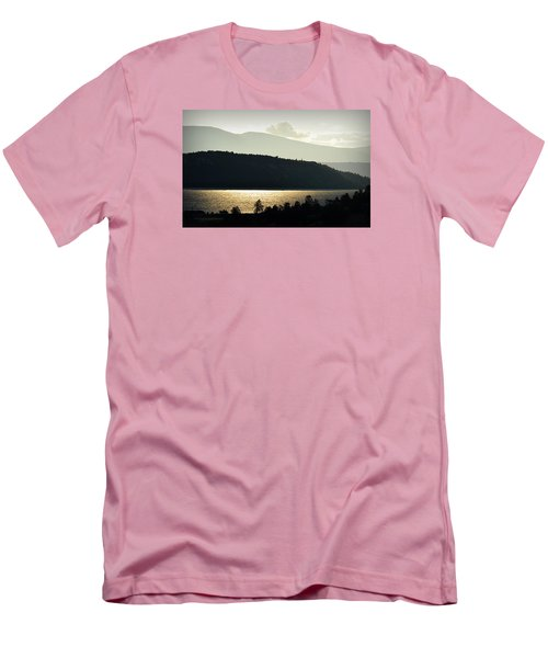 Lake Glimmer Men's T-Shirt (Slim Fit) by AJ  Schibig
