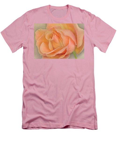 Last Autumn Rose Men's T-Shirt (Slim Fit) by Jacqi Elmslie