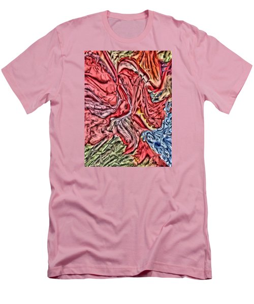 Leaves And Grapes Men's T-Shirt (Slim Fit) by Vickie G Buccini