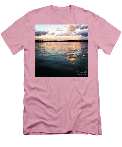 Lkn Water And Sky  I Men's T-Shirt (Athletic Fit)