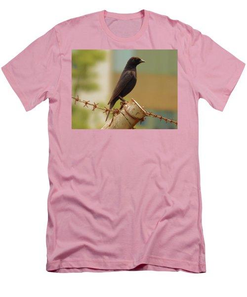 Loneliness Bird Men's T-Shirt (Athletic Fit)