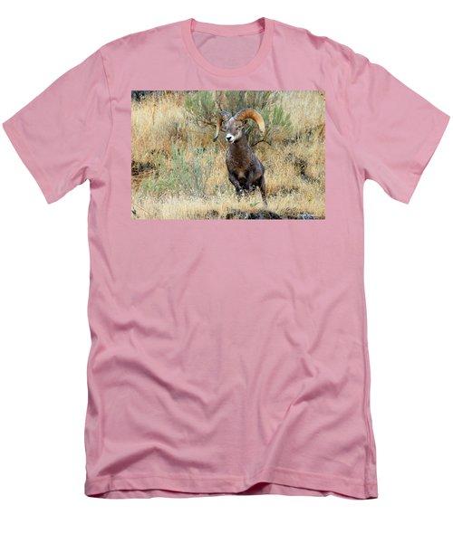 Loner IIi Men's T-Shirt (Slim Fit) by Steve Warnstaff