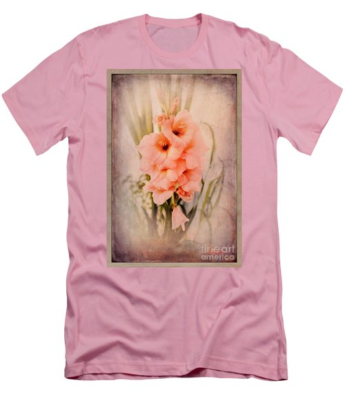 Lovely Gladiolus Men's T-Shirt (Athletic Fit)