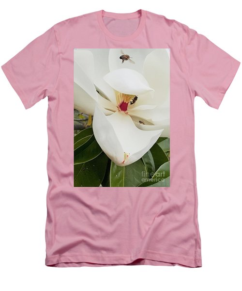Magnolia Fans Men's T-Shirt (Athletic Fit)