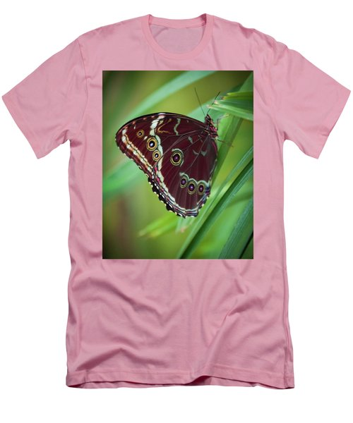Men's T-Shirt (Slim Fit) featuring the photograph Majesty Of Nature by Karen Wiles