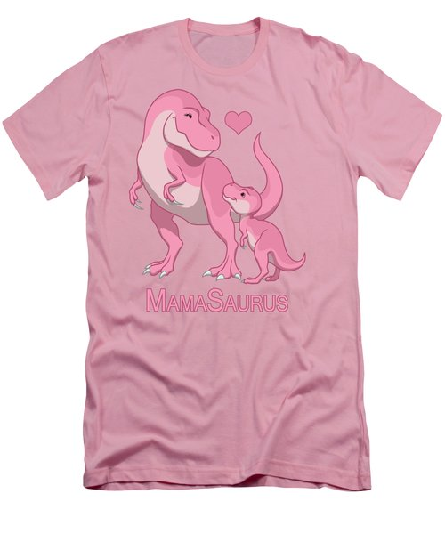 Mama Tyrannosaurus Rex Baby Girl Men's T-Shirt (Athletic Fit)