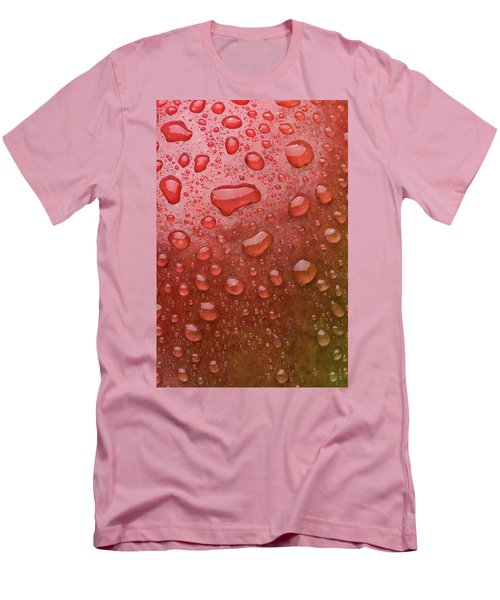 Mango Skin Men's T-Shirt (Slim Fit) by Steve Gadomski