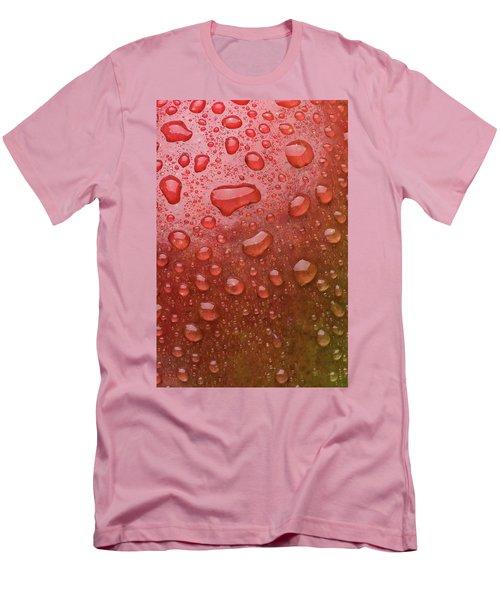 Mango Skin Men's T-Shirt (Slim Fit) by Steve Gadomski