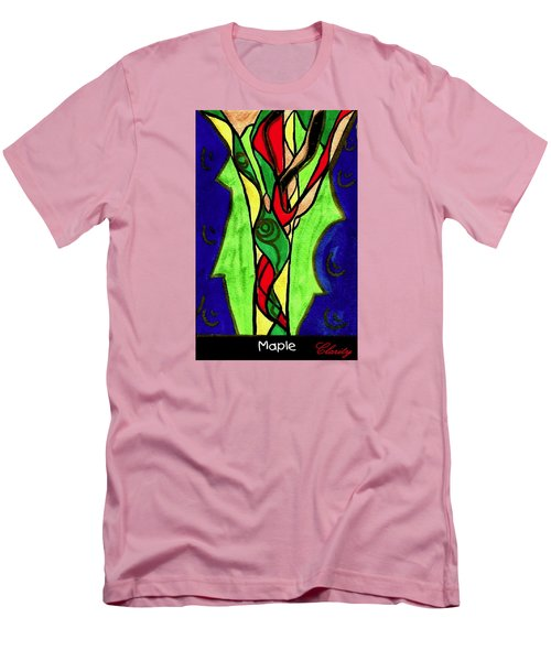 Maple Men's T-Shirt (Slim Fit) by Clarity Artists