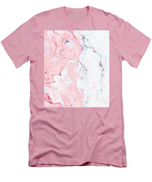 Marble Love Men's T-Shirt (Athletic Fit)