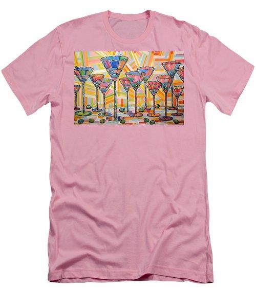 Martini Hour Men's T-Shirt (Athletic Fit)