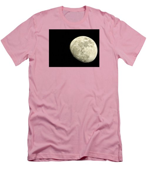 Men's T-Shirt (Slim Fit) featuring the photograph Me And The Moon Tonight by Nikki McInnes