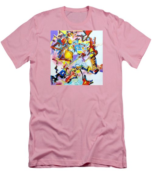 Metamorphosis On A Swing  Men's T-Shirt (Athletic Fit)