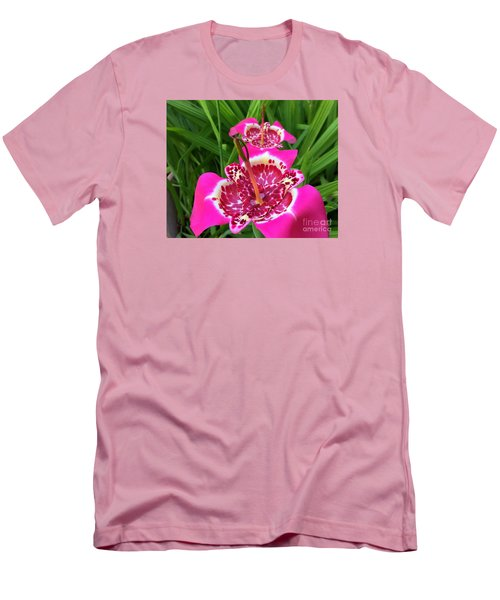 Mexican Shell Flower 2 Men's T-Shirt (Athletic Fit)