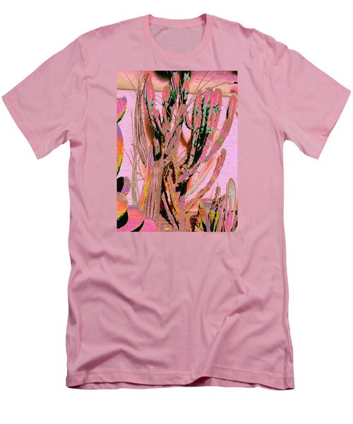 Men's T-Shirt (Slim Fit) featuring the photograph Mexico Colors 2 by M Diane Bonaparte