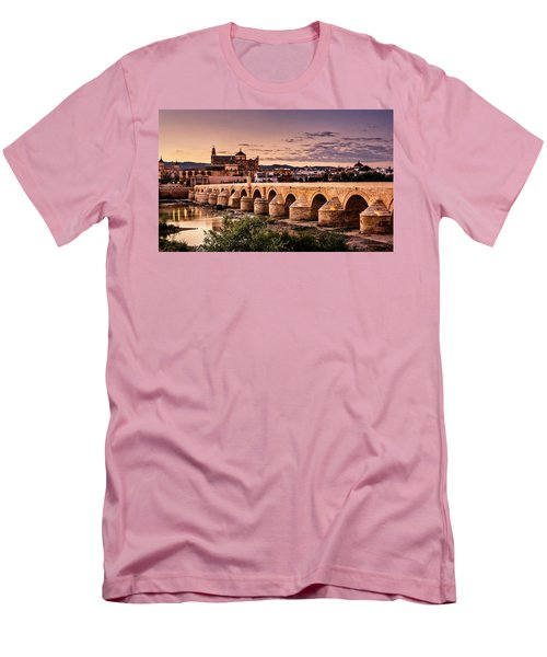 Mezquita In The Evening Men's T-Shirt (Slim Fit) by Marion McCristall