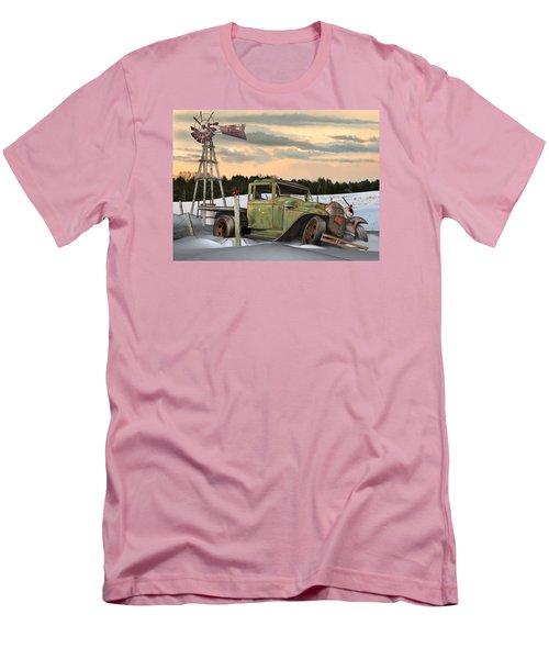 Model A Flatbed Men's T-Shirt (Slim Fit) by Stuart Swartz