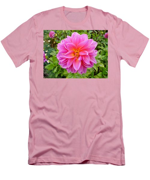 Monterey Pink Men's T-Shirt (Athletic Fit)