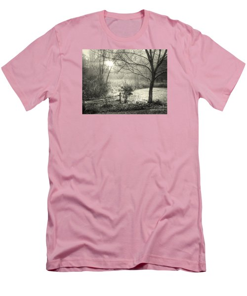 Men's T-Shirt (Slim Fit) featuring the photograph Morning Breaking by Betsy Zimmerli