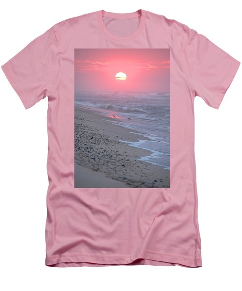 Men's T-Shirt (Slim Fit) featuring the photograph Morning Haze by  Newwwman