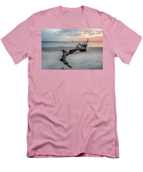 Morris Island Men's T-Shirt (Slim Fit) by Robert Loe