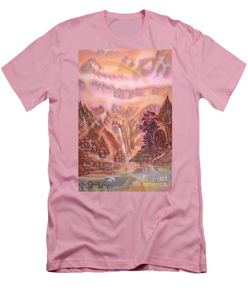Mountain Mist Men's T-Shirt (Athletic Fit)