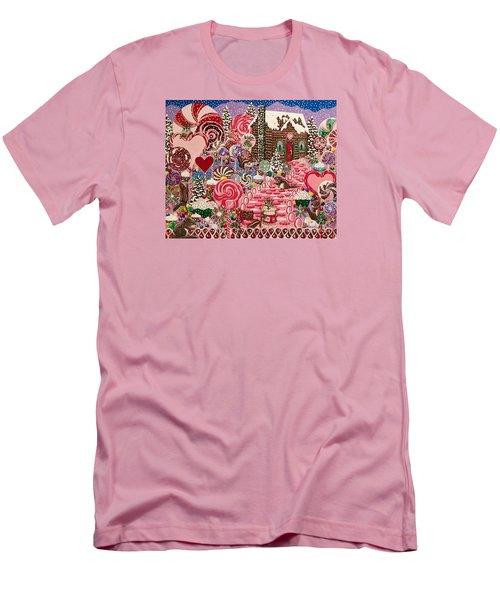 Ms. Elizabeth Peppermint World Men's T-Shirt (Slim Fit)