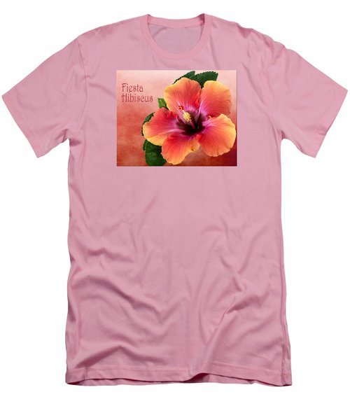 My Fiesta Hibiscus Men's T-Shirt (Athletic Fit)