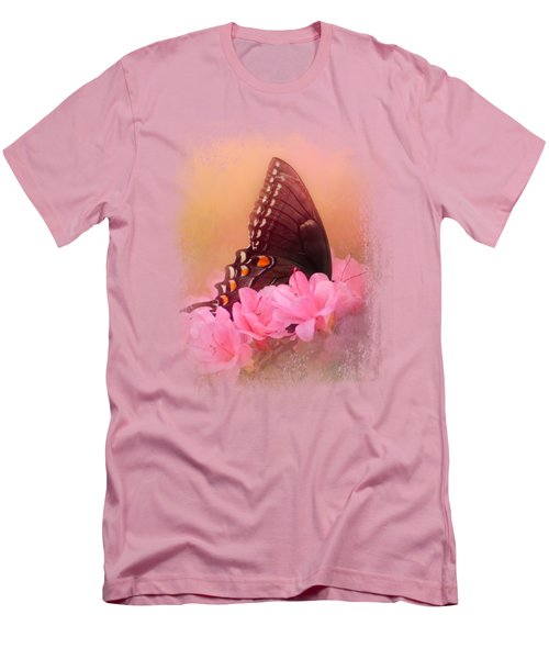 Napping In The Azaleas Men's T-Shirt (Slim Fit) by Jai Johnson