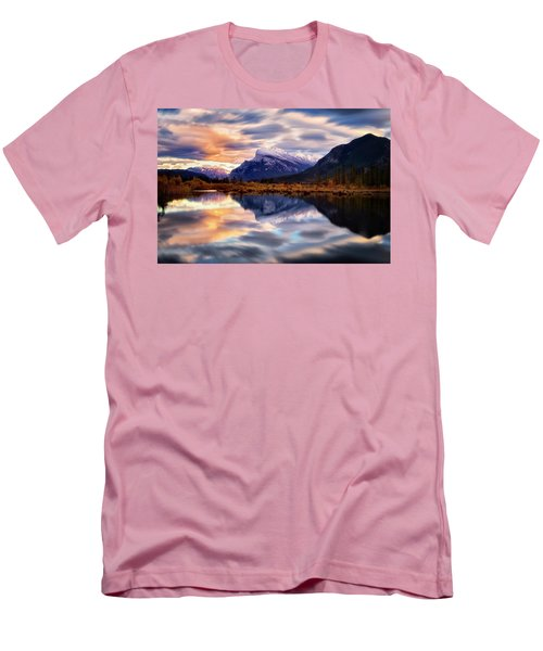 Natural Mirror Men's T-Shirt (Slim Fit) by Nicki Frates