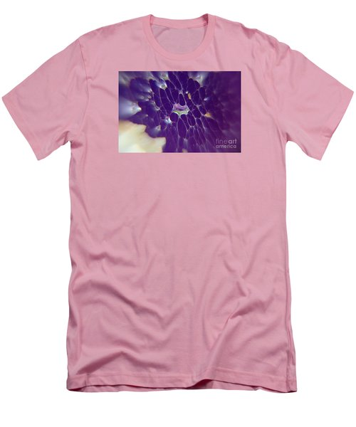 Nature Abstract Men's T-Shirt (Slim Fit) by Yumi Johnson