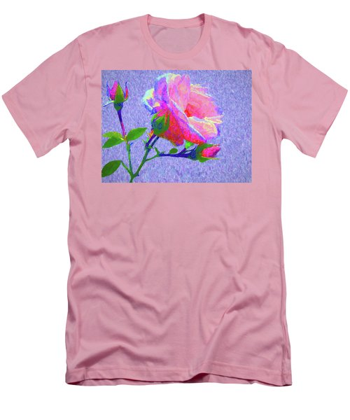 New Dawn Painterly Men's T-Shirt (Slim Fit) by Susan Lafleur