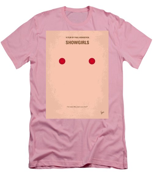 No076 My Showgirls Minimal Movie Poster Men's T-Shirt (Athletic Fit)