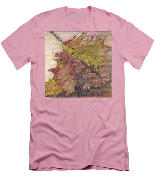 Oak Leaves Men's T-Shirt (Athletic Fit)