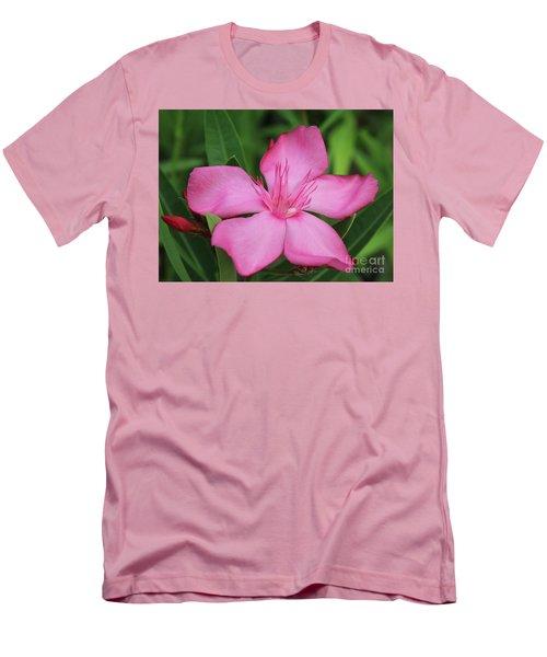 Oleander Professor Parlatore 2 Men's T-Shirt (Slim Fit) by Wilhelm Hufnagl
