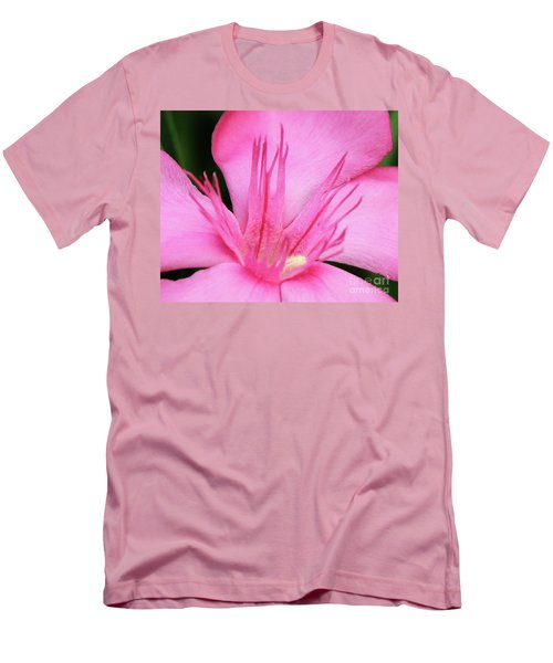 Oleander Professor Parlatore 3 Men's T-Shirt (Slim Fit) by Wilhelm Hufnagl